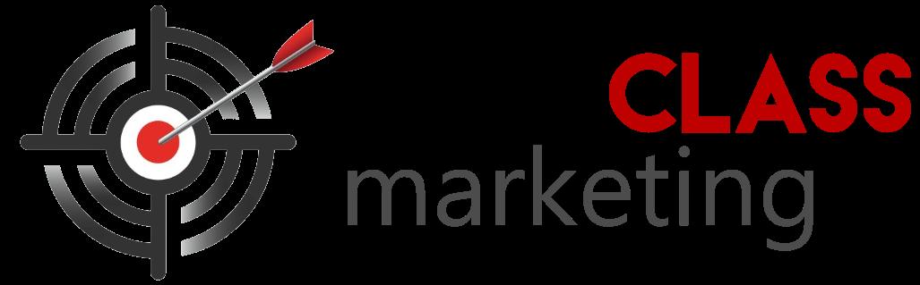First Class Marketing Logo New